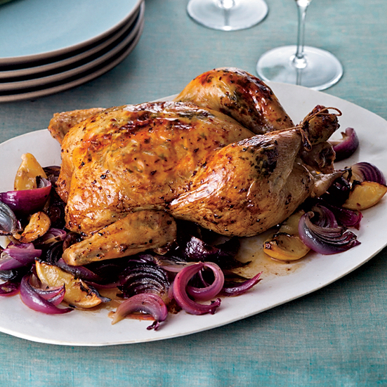 Aleppo-Pepper-and-Mint-Roasted Chicken.