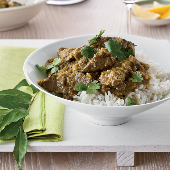 Sauteed Liver with Indian Spices.