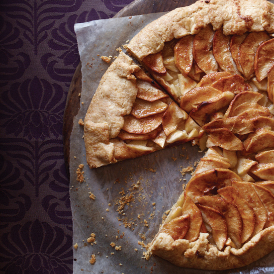 Country Apple Galette Recipe - Jacques Pépin | Food & Wine