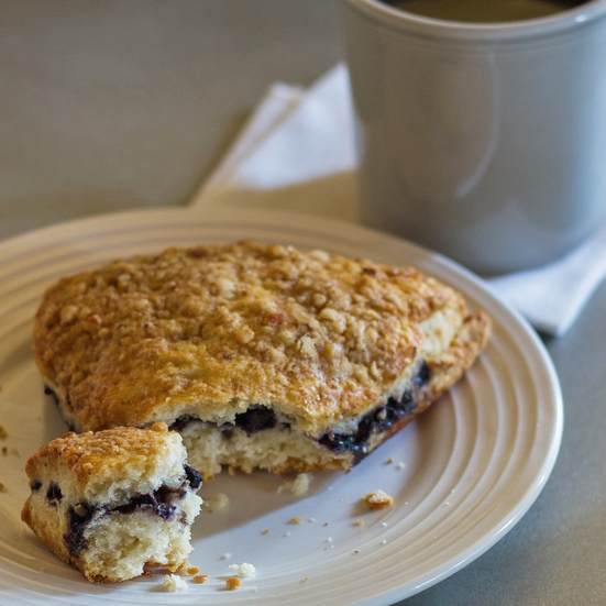 Almond Flour Blueberry Scones Recipe - Emily Farris | Food & Wine