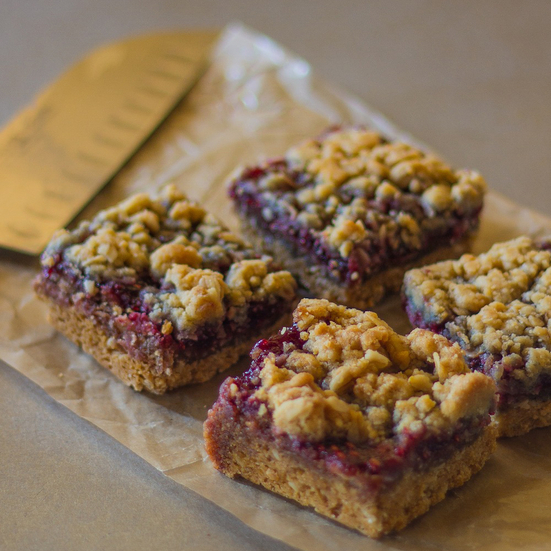 Raspberry Streusel Bars Recipe - Emily Farris | Food & Wine