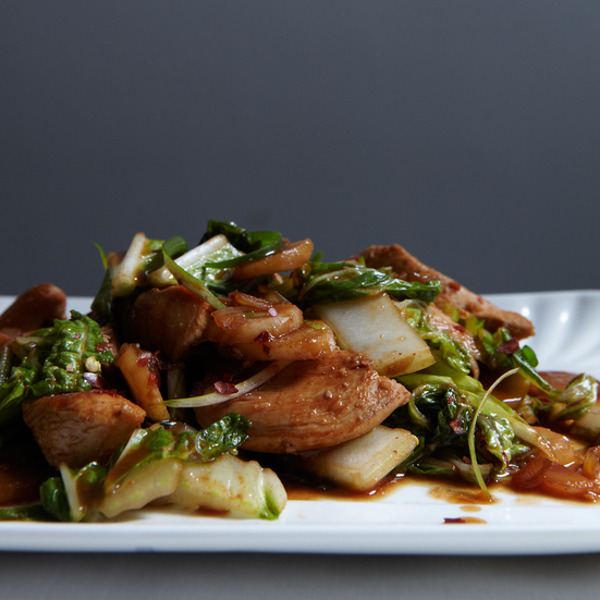 Stir-Fried Chicken with Chinese Cabbage