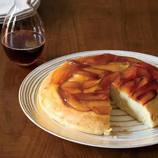 Light and Fluffy Baked Apple Pancakes