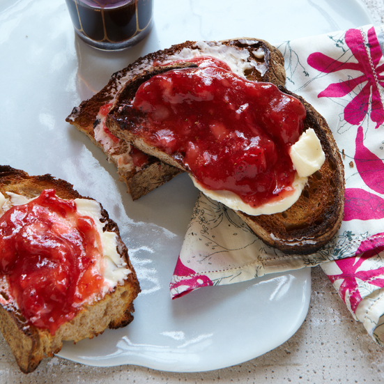 No-Cook Strawberry Jam