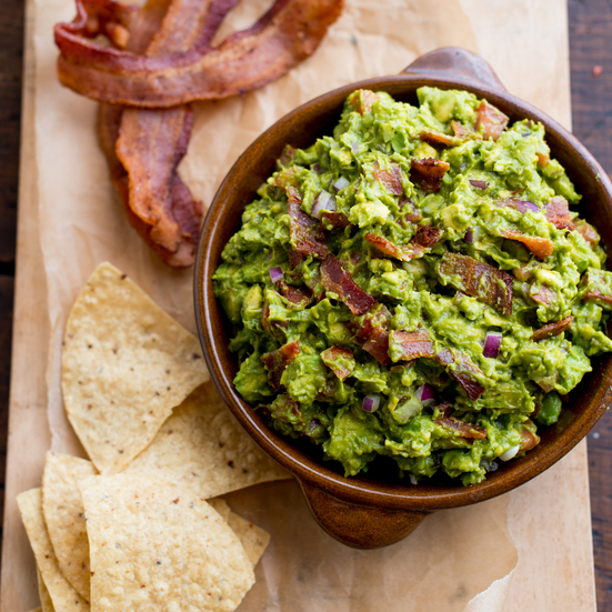 Bacon Guacamole Recipe - Todd Porter and Diane Cu | Food & Wine