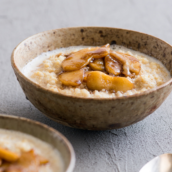 Apple Cinnamon Quinoa Breakfast Bowl Recipe - Todd Porter and Diane Cu ...