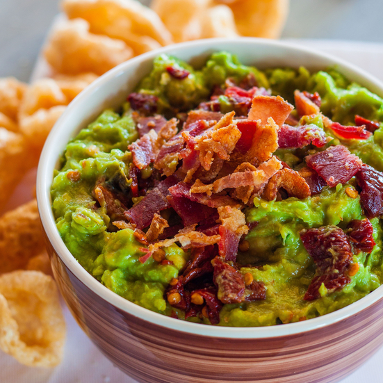 Smoky Chipotle and Bacon Guacamole Recipe - Emily Farris ...