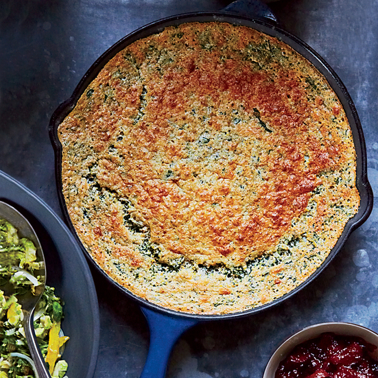 Spinach Spoon Bread