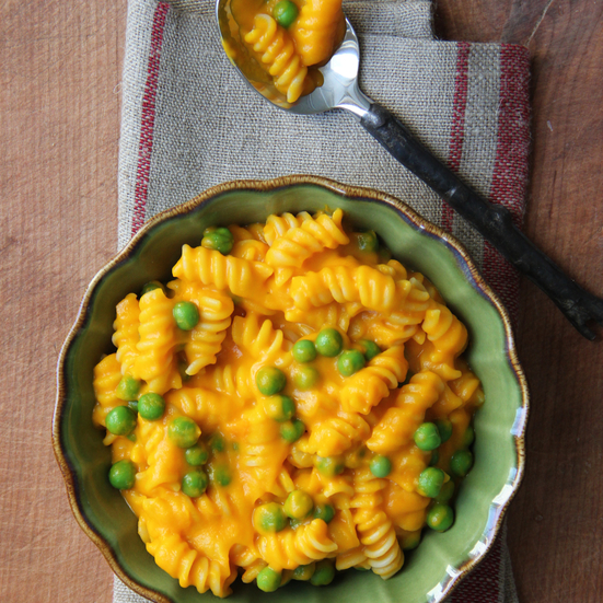 Carrots and Peas Mac and Cheese Recipe - Ian Knauer | Food & Wine