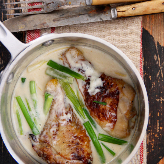 Braised Chicken With Mojo Sauce Recipes — Dishmaps