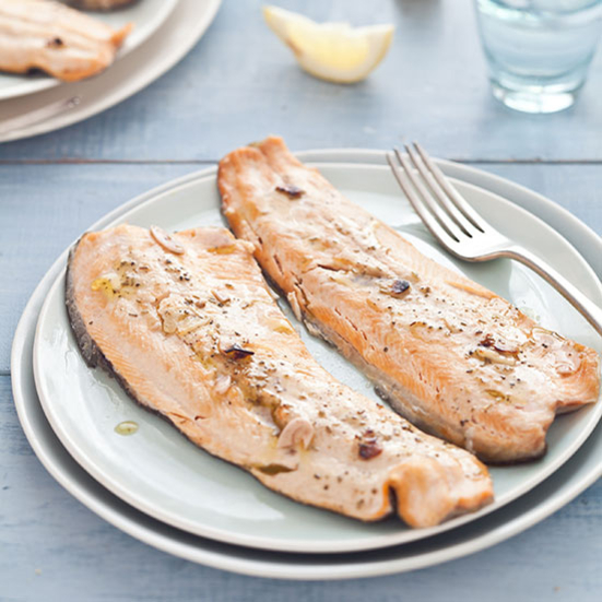 Tuscan Grilled Trout