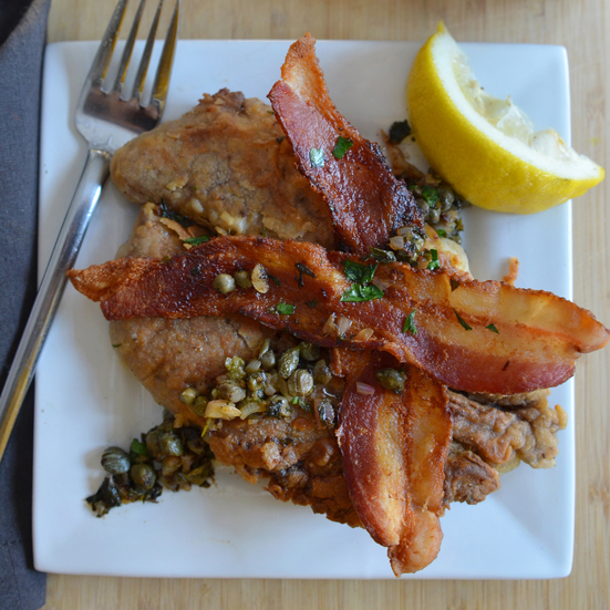 Shad Roe With Bacon And Capers Recipe Andrew Zimmern