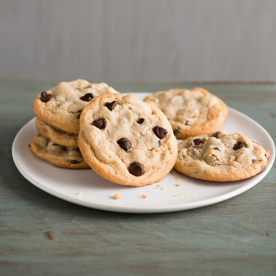Chewy Peanut Butter Cookies with Chocolate Chips Recipe - Todd Porter ...
