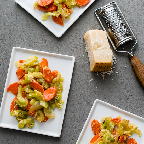 Stir-Fried Celery and Carrots with Parmigiano-Reggiano ...