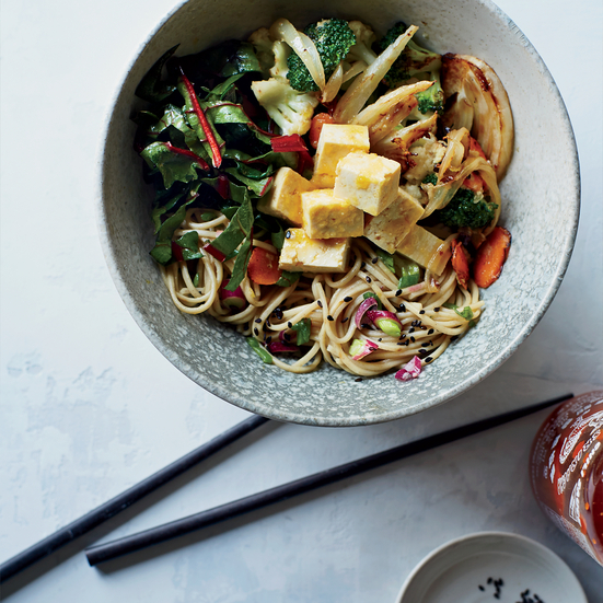 Kitchen-Sink Soba Noodles