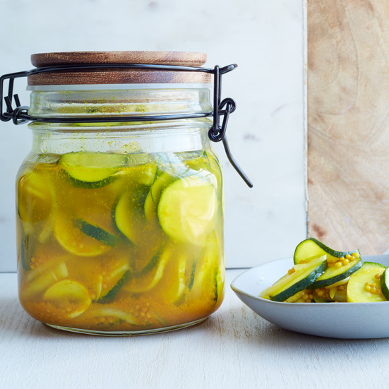 Bread-and-Butter Zucchini Pickles