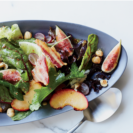 autumn salad with figs and blue cheese citrus lentil salad with kale ...