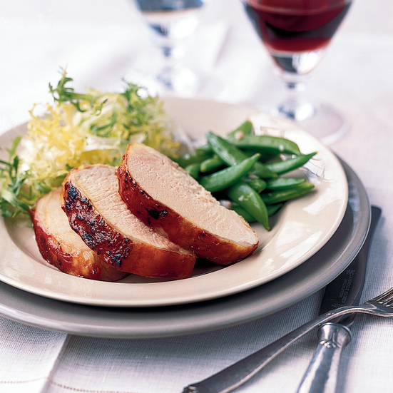 Barbecued Pork Loin Recipe - Christian Delouvrier | Food & Wine