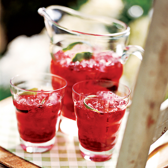 Tangy Hibiscus-Lime Iced Tea Recipe - Melissa Rubel ...