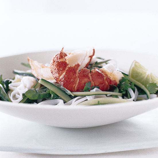 Lobster and Rice Noodle Salad