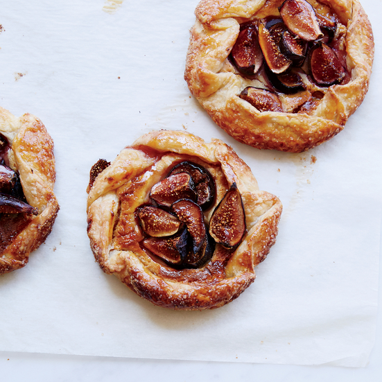 Fig-and-Frangipane Galettes Recipe | Food & Wine
