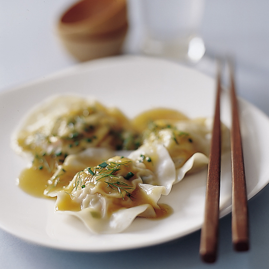 Shrimp and Fennel Ravioli