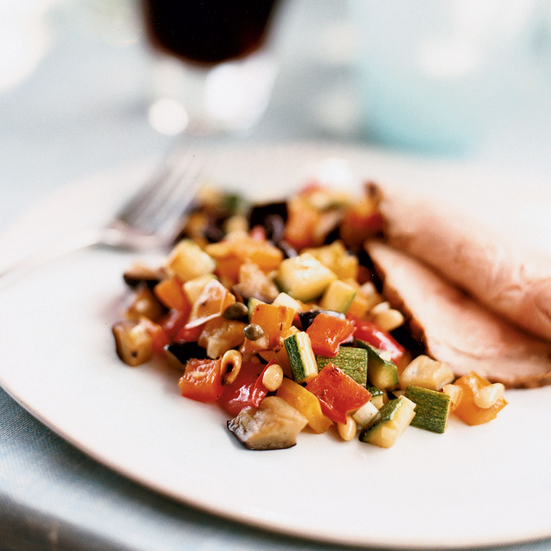 Sweet-and-Sour Vegetable Caponatina