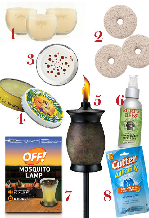 8 Ways to Keep Mosquitoes Away from Your Backyard Party Food Wine