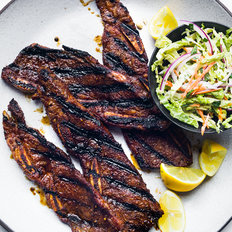 Food & Wine: Sweet-and-Spicy Grilled Beef Short Ribs