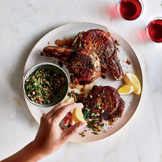 Food & Wine: Pork Chops with Sunflower 