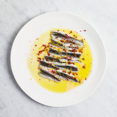 Food & Wine: Cured Anchovies, Pink Peppercorns, Oranges