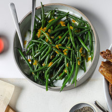 Food & Wine: Green Beans with Preserved Lemon