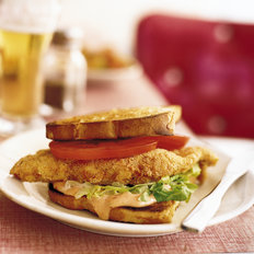 Food & Wine: Fried Catfish Sandwiches with Chipotle-Honey Mayo