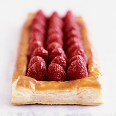 Food & Wine: Fresh Raspberry Tart