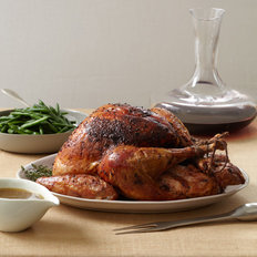 Food & Wine: Roast Turkey with Shallot Butter and Thyme Gravy