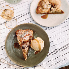 Food & Wine: Apple Crostada with Brown Butter Streusel
