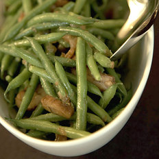 Food & Wine: Haricots Verts and Chestnuts with Date Vinaigrette