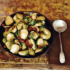 Food & Wine: Brussels Sprouts with Cranberries
