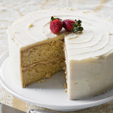 Food & Wine: Yellow Layer Cake with Vanilla Frosting