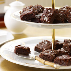 Food & Wine: Salted Fudge Brownies