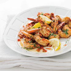 Food & Wine: Creole Shrimp with Garlic and Lemon