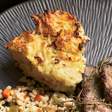 Food & Wine: Potato Kugel with Fried Shallots