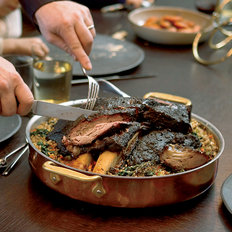Food & Wine: Slow-Braised Short Ribs with Spinach