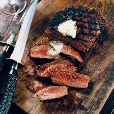 Food & Wine: Mexican Spice-Rubbed Rib Eyes with Lime Butter