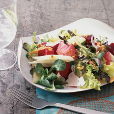 Food & Wine: Watermelon and Papaya Salad with Tequila Vinaigrette