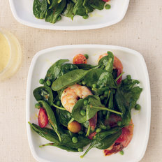 Food & Wine: Spinach-and-Shrimp Salad with Chile Dressing