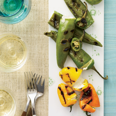 Food & Wine: Cheese-Stuffed Grilled Peppers
