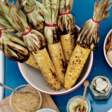 Food & Wine: Grilled Corn with Mango-Habanero Butter