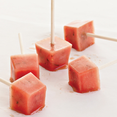 Food & Wine: Minted Watermelon Popsicles