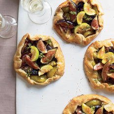 Food & Wine: Honeyed Fig Crostatas